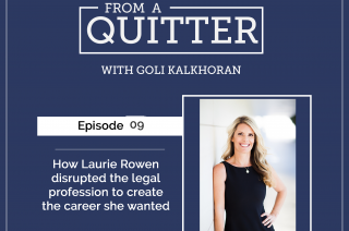 Laurie Rowen Featured on Lessons from a Quitter
